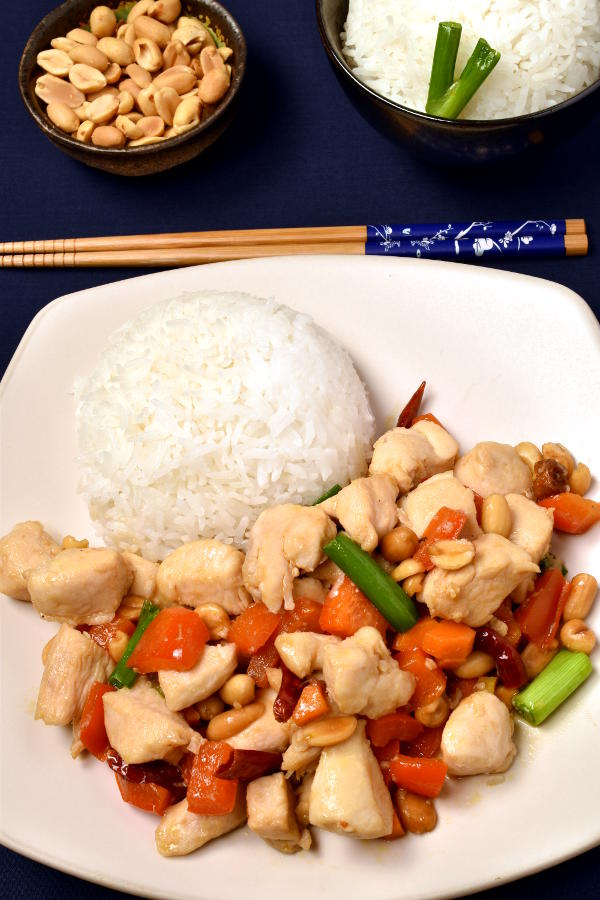 Kung Pao Chicken| WednesdayNightCafe.com