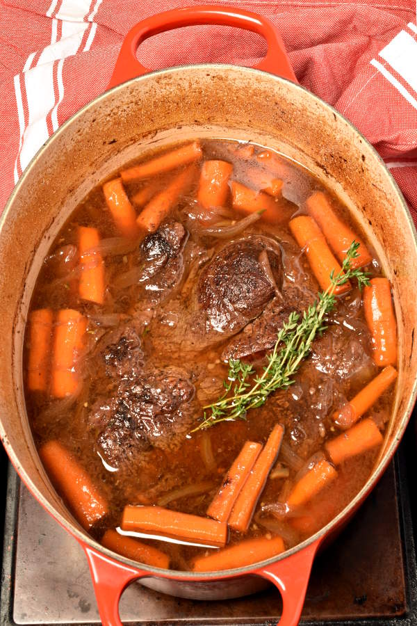 Pomegranate Pot Roast| WednesdayNightCafe.com