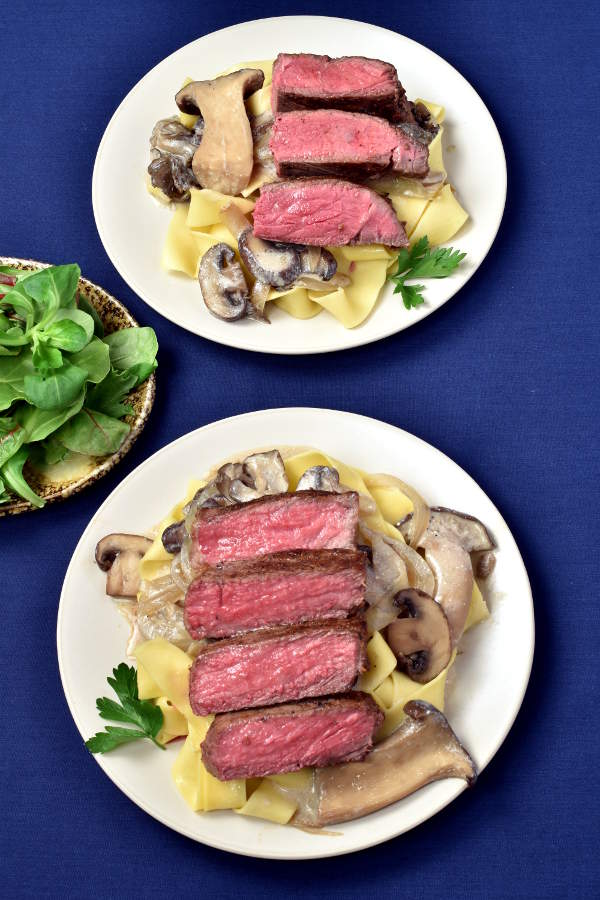 Steak Stroganoff | WednesdayNightCafe.com