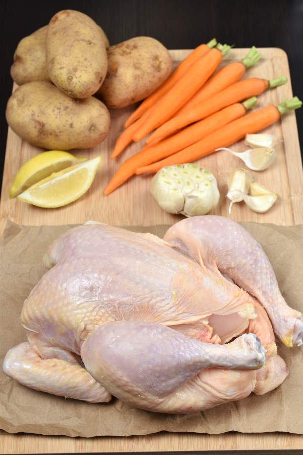 Slow Roast Chicken| WednesdayNightCafe.com