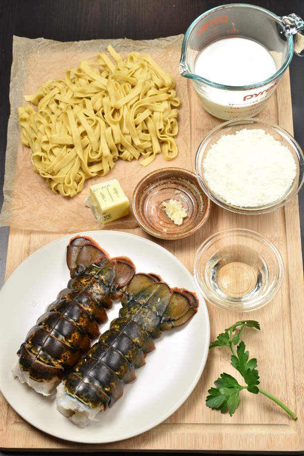 Lobster Pasta| WednesdayNightCafe.com