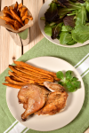 CornisSweet Potato Oven Fries - Thanksgiving Sides | WednesdayNightCafe.com