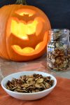 Maple Cinnamon Roasted Pumpkin Seeds   WednesdayNightCafe.com