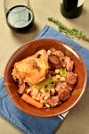 Cassoulet (French Pork and Bean Casserole)| WednesdayNightCafe.com