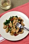 Crispy Gnocchi Skillet with Chicken Sausage| WednesdayNightCafe.com