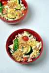 Summer Veggie Mac and Cheese (Stovetop)| WednesdayNightCafe.com