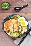 Chicken and Vegetable Ramen Noodle Soup| WednesdayNightCafe.com